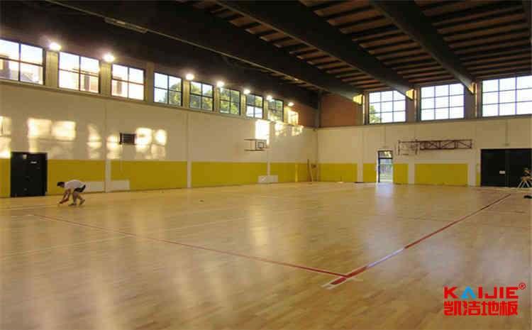 室内运动地板羽毛球方案