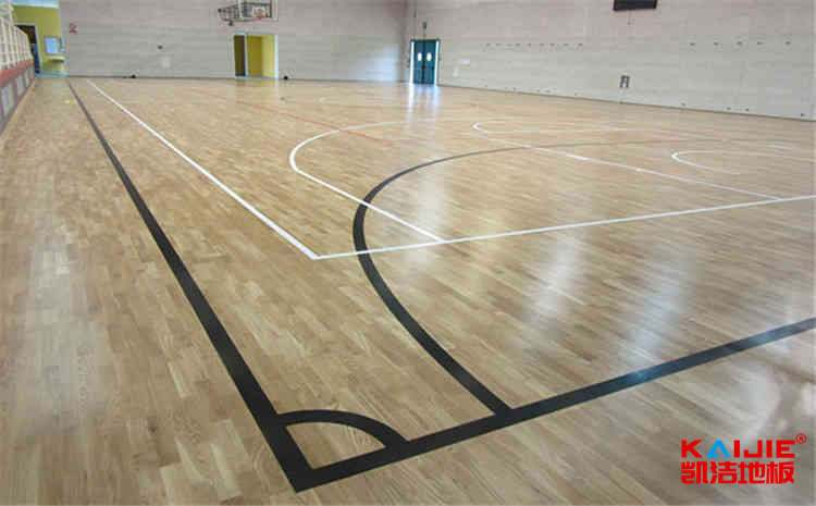比赛场馆篮球场地板一般多少钱