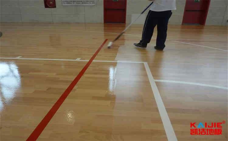 篮球场地地面材质