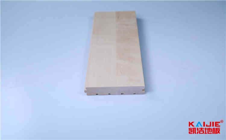常熟健身房实木地板安装需要注意什么——羽毛球木地板