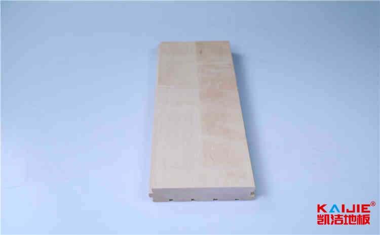 郏县篮球木地板厂家怎么划线的——凯洁地板