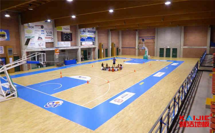 板式龙骨结构篮球地板色差问题