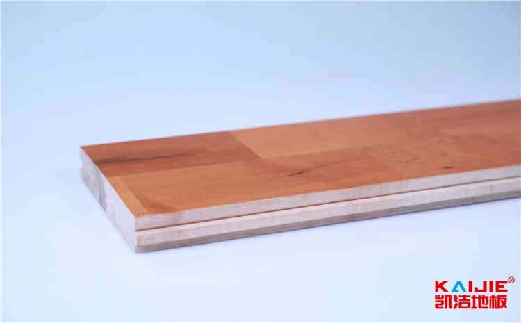 包头篮球场地实木地板厂家——凯洁地板