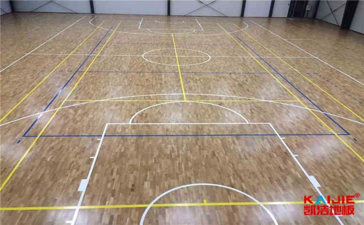 篮球馆木地板防潮价格是多少