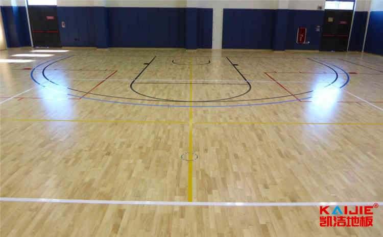 松木运动体育地板施工技术方案
