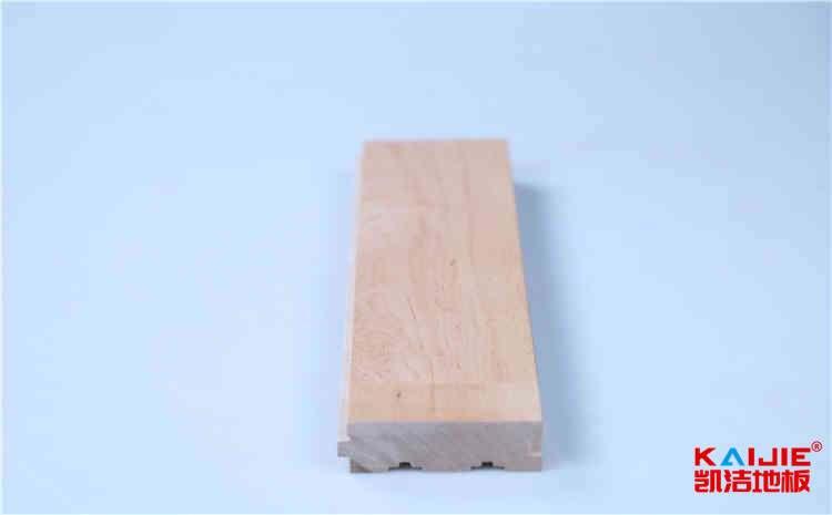 体育馆专用硬槭木运动木地板品牌——凯洁地板