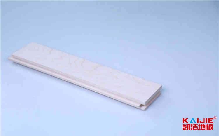 峨眉山运动馆实木地板安装——凯洁地板