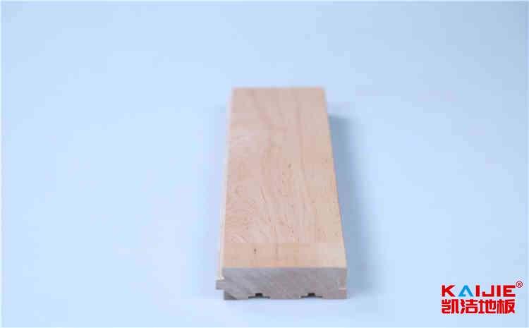 襄阳体育馆实木运动地板怎么保养——凯洁地板