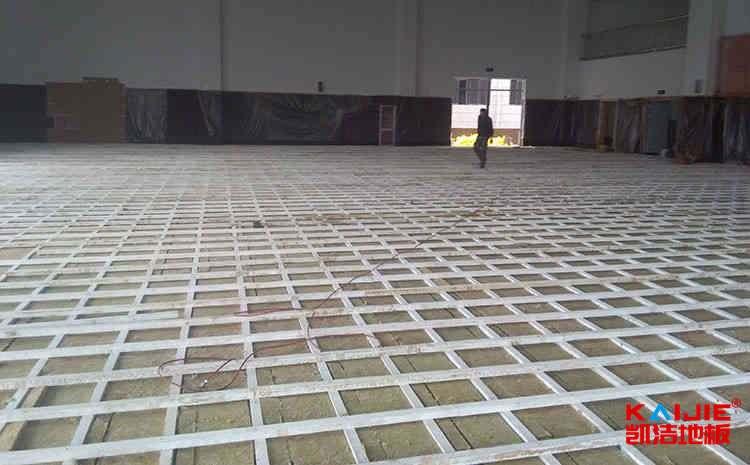 天津硬木企口体育地板多少钱一平米