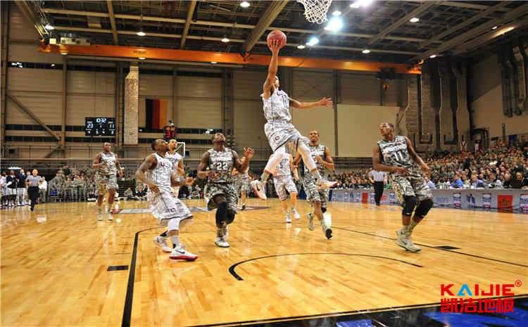 比赛场馆篮球馆木地板维护