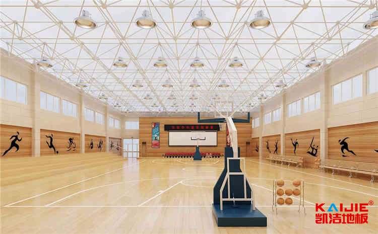 济南篮球场木地板