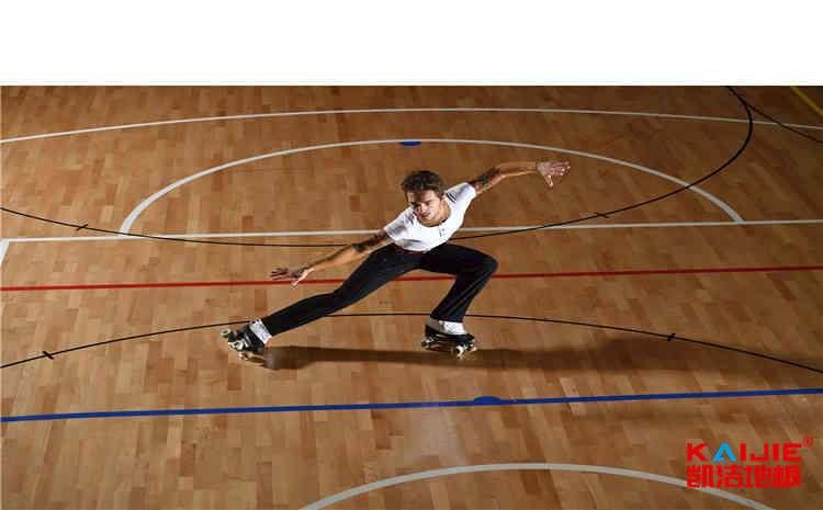 进口篮球馆地板翻新