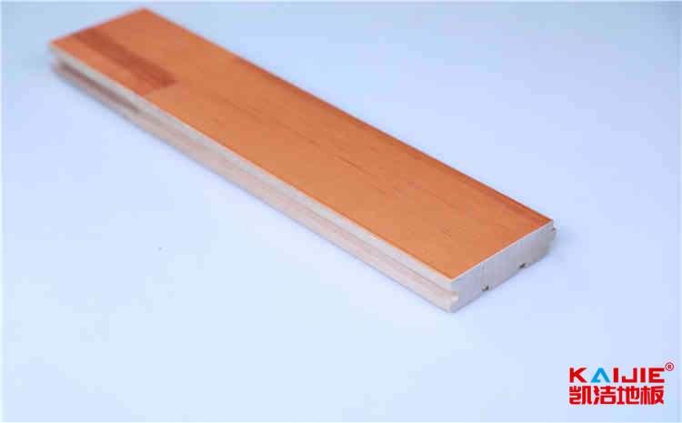 石家庄篮球馆木地板结构怎么安装——运动木地板