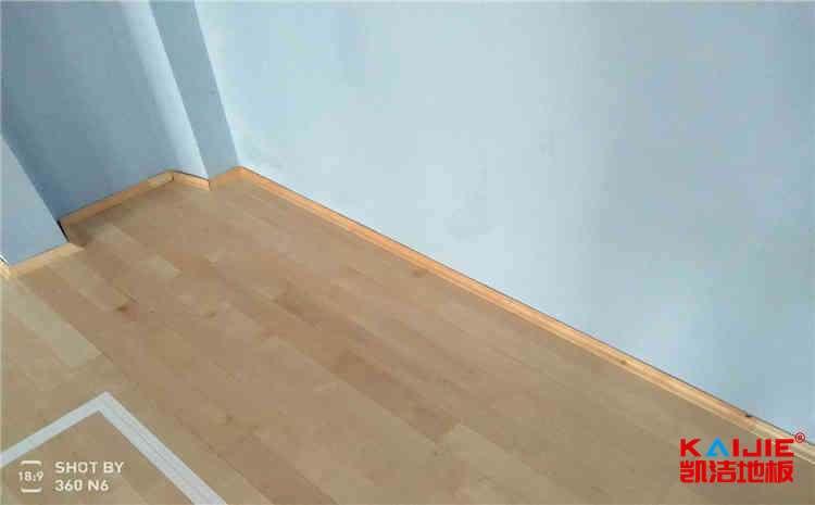 运动木地板泡水了怎么处理——凯洁地板