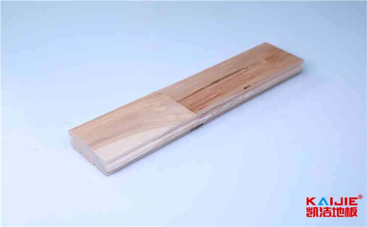 丽江室内运动场馆木地板怎么铺装效果更好——凯洁地板