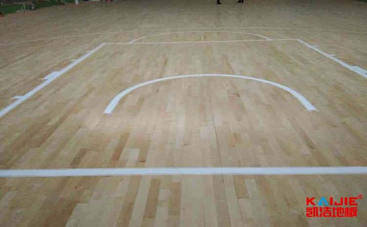 专业运动木地板安装工艺