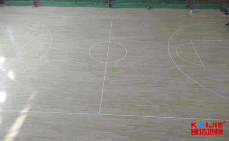 体育馆运动木地板怎么清洁——实木运动地板