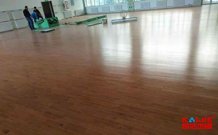 青岛枫木运动地板