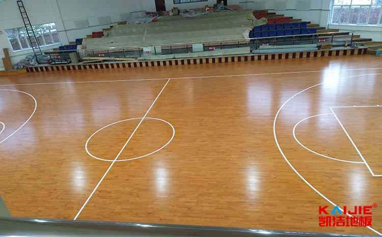 篮球木地板木龙骨底层结构区分办法