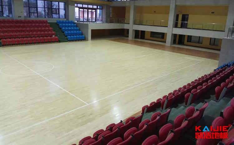 20厚排球馆木地板怎么翻新