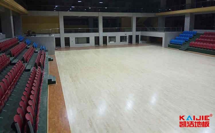 室内篮球场木地板变形怎么处理——凯洁地板