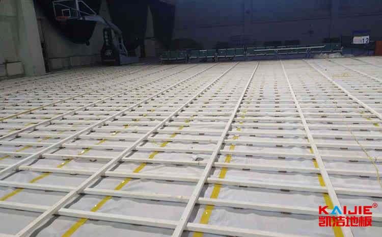 篮球馆专用木地板保养注意事项——凯洁地板