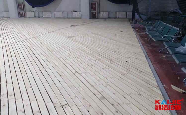 2019我国篮球场木地板十大品牌——凯洁地板