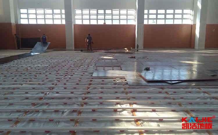 南昌运动木地板生产厂家——凯洁地板