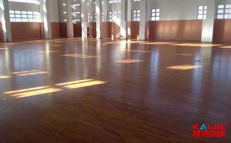 宁夏舞台木地板施工