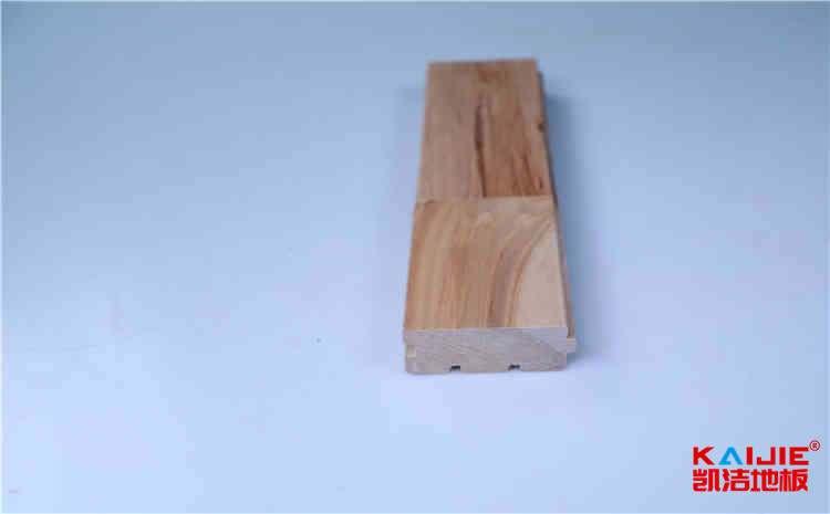 河北室内运动场馆木地板保养需要注意什么——凯洁地板
