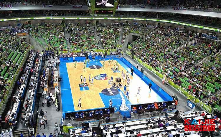 NBA体育馆专用木地板价格——体育木地板厂家