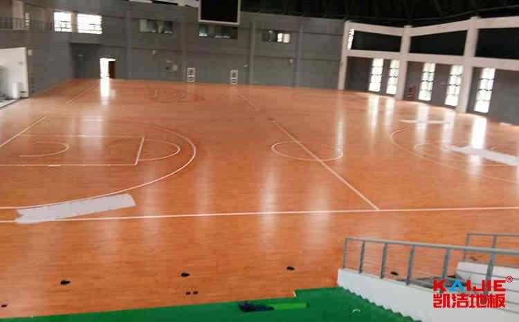 个旧体育地板