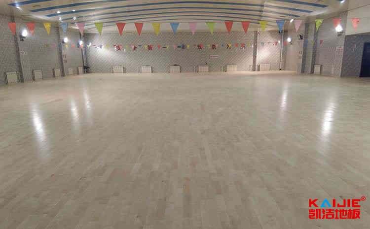 阿勒泰篮球木地板厂家——凯洁地板