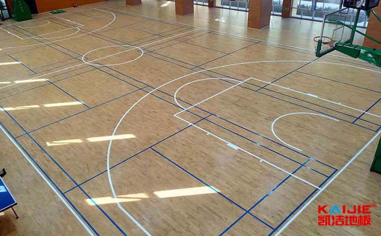 篮球木地板怎样防滑