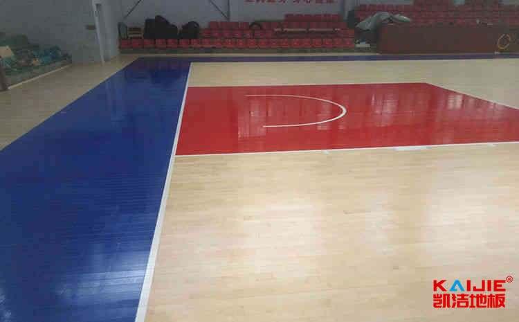 健身房中为什么要用篮球馆木地板——体育木地板品牌