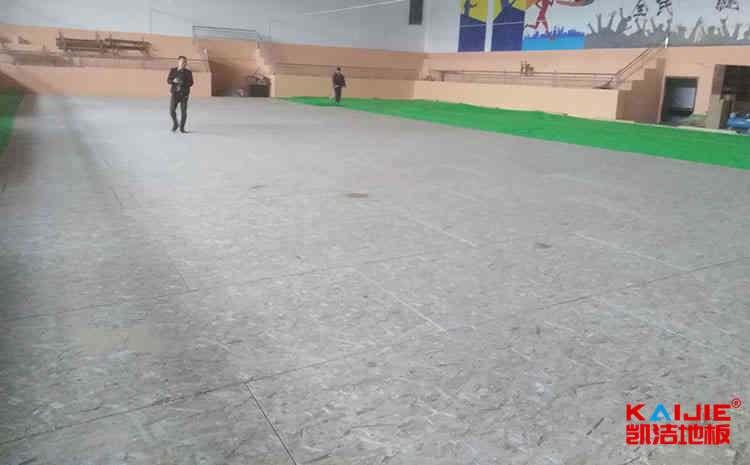 篮球馆专用运动木地板结构参数