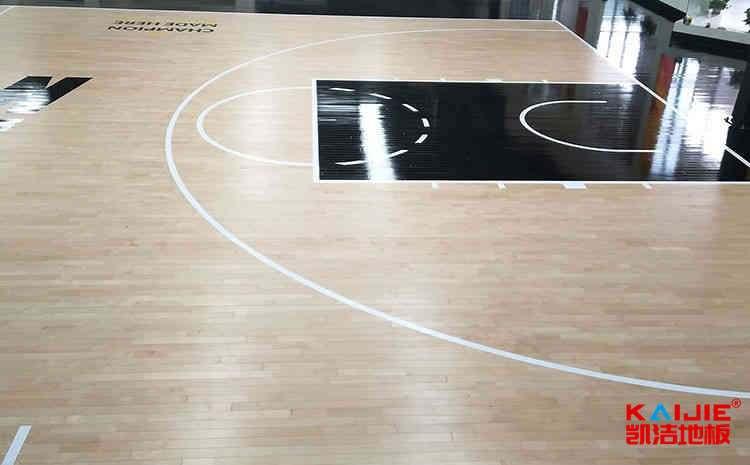 天津篮球木地板报价