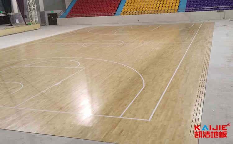体育馆木地板安装之后开裂怎么办——篮球木地板品牌