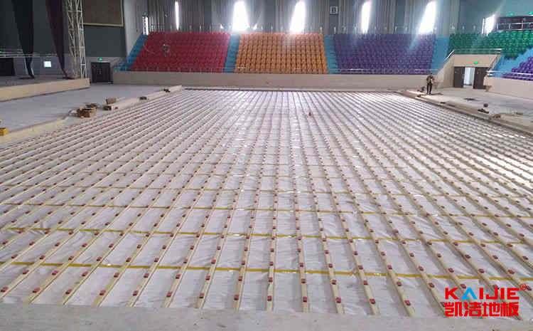 西藏运动木地板施工工艺