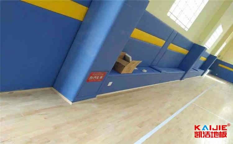 山东体育木地板施工