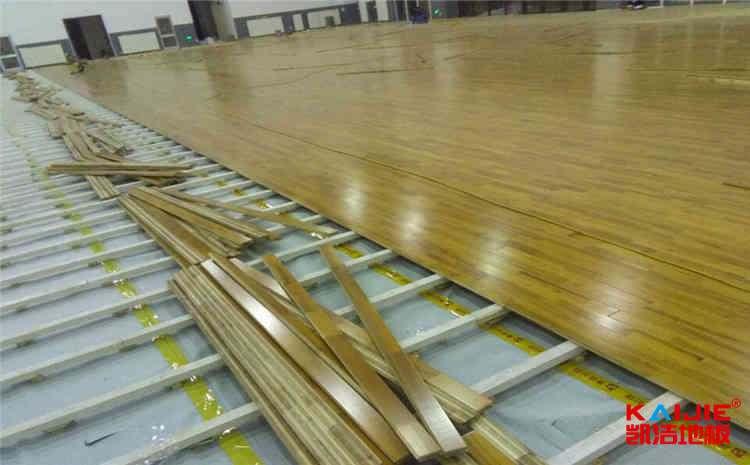 广东篮球木地板送货上门——凯洁地板