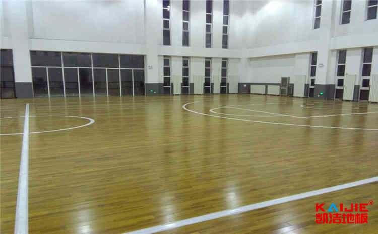 篮球场木地板怎么做好防潮防腐——运动地板