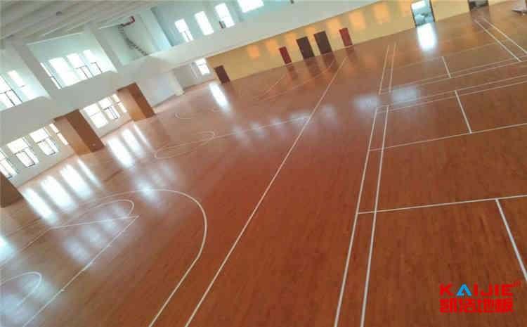 体育馆枫木地板