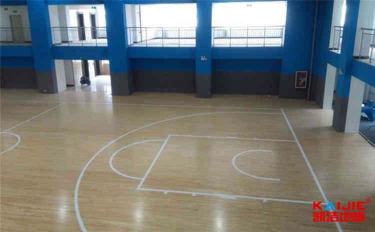 乌鲁木齐运动木地板施工工艺