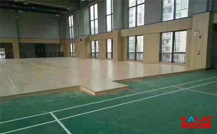 甘肃舞台木地板定制
