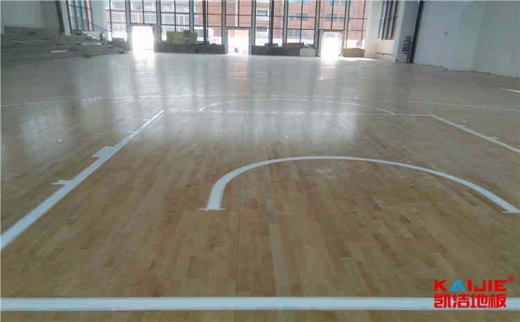 河北篮球场实木地板厂家