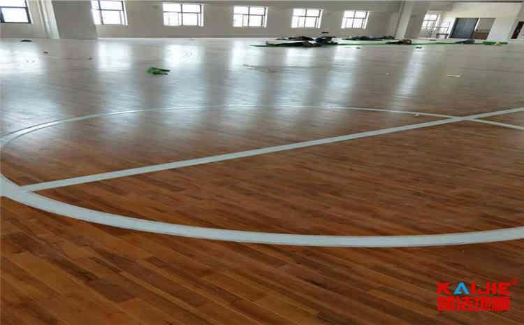 广东篮球木地板厂家——凯洁地板