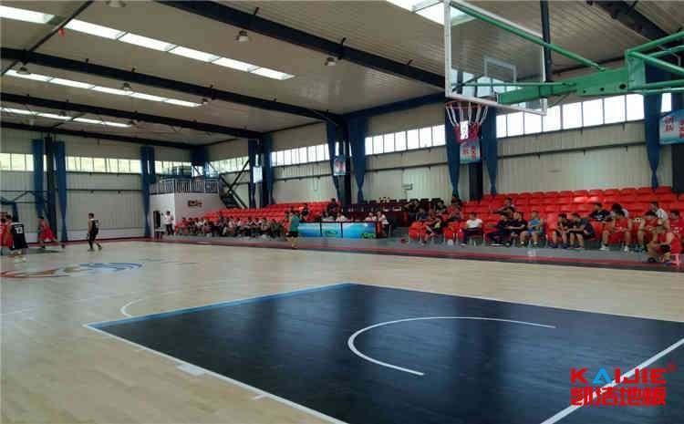 体育室的室内地板作用.