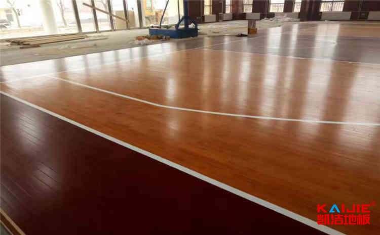 新疆篮球木地板多少钱一平米