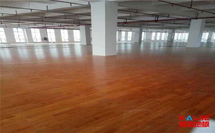 湖南篮球木地板报价——凯洁地板